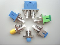 Hybrid Fiber Adapter, Male-Female Hybrid Adapter, Female-Female Hybrid Adapter, ST,FC,SC,LC,MU,E2000 Hybrid Adapter
