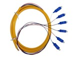 Bundle Fan out Fiber Patchcord, SC 6 Cores Bundle Fan out Fiber pigtail